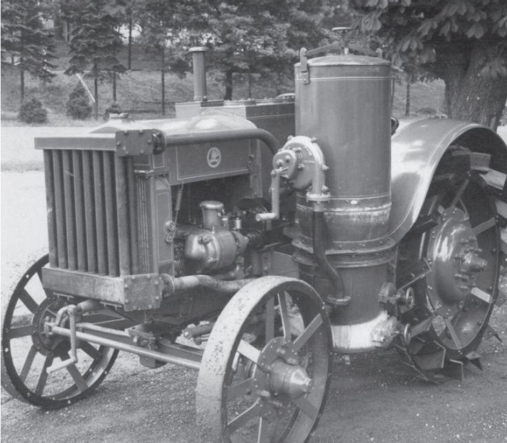 Škoda HT-20 na Hospodářské výstavě 1920.