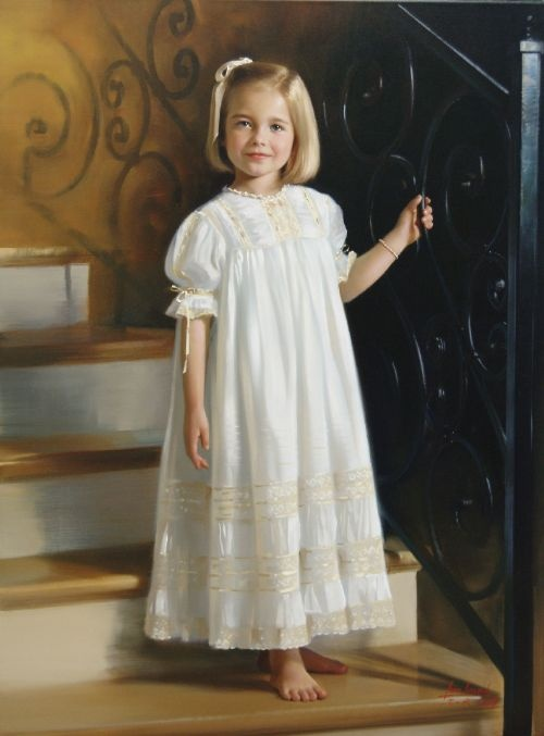 another beautiful heirloom dress!