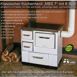Küchenofen Holzherd Holzofen » kaminofen-store.de Shop - 349 euro