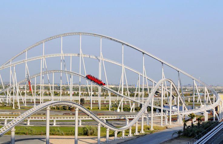 Formula Rossa     Formula Rossa coaster at Ferrari World in Abu Dhabi, United Arab Emirates