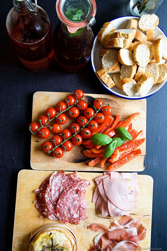Summer meal inspiration - Charcuterie