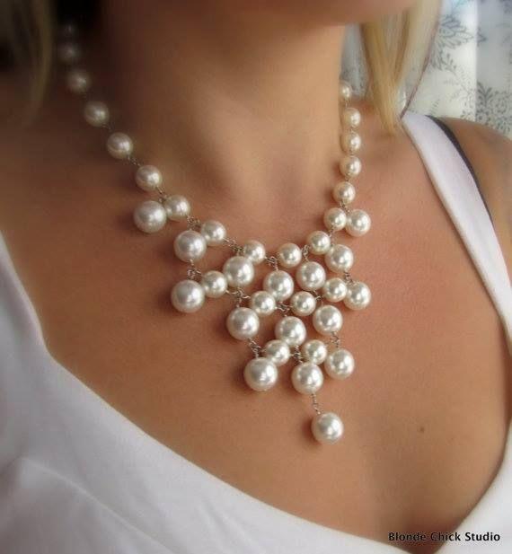 Collar Perlas, Bisuteria Collar, Collares De Perlas, Perlas Grandes, Collares Marinas, Aretes, Gargantillas, Brazaletes, Proyectos