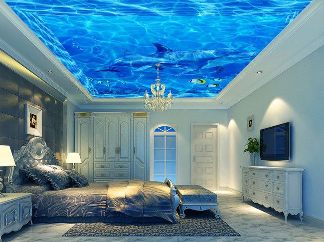 Les 25 meilleures id es concernant plafond tendu sur for Decoration pour plafond