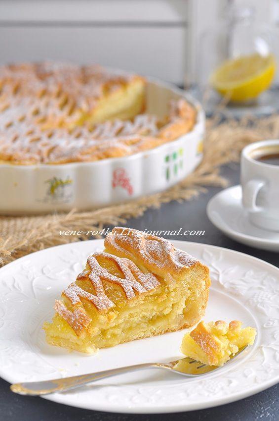 Лимонник - традиционный татарский пирог, его обычно делают двух-слойным, или трёх-слойным. Делают полностью с лимонной начинкой, или сразу с тремя - лимон, курага, чернослив (такой пирог тоже как-нибудь принесу) Верх пирога, как правило, закрытый, это уже моя импровизация, сделать его красивой…