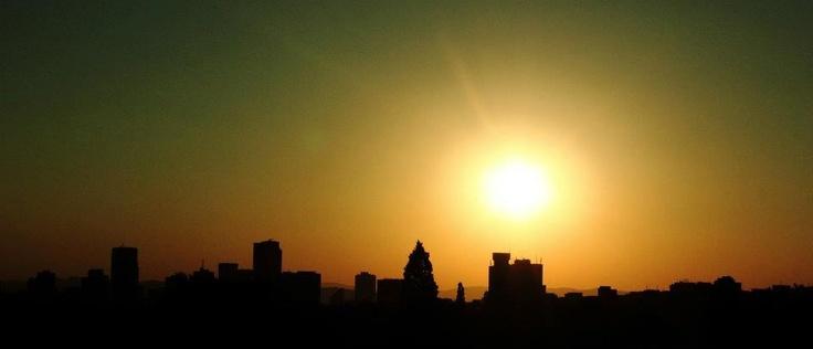 Pretoria - South Africa, sunset