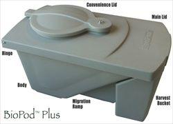 The BioPod Plus  Black Soldier Fly Larvae Bin! #gift #aquaponics