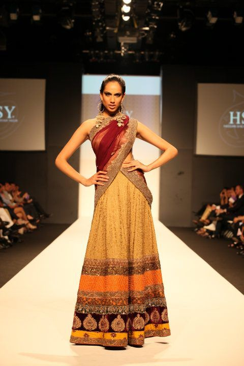 HSY Latest Collection Showcased in Dubai Fashion Week b