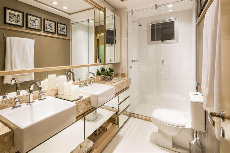 banho master / banheiro / bathroom / apartamento decorado / home decor / bohrer arquitetura / interior design