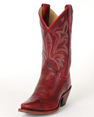 Justin® Ladies' Red Torino Cow Boots :: Ladies Cowboy Boots :: Cowboy Boots :: Fort Western Online
