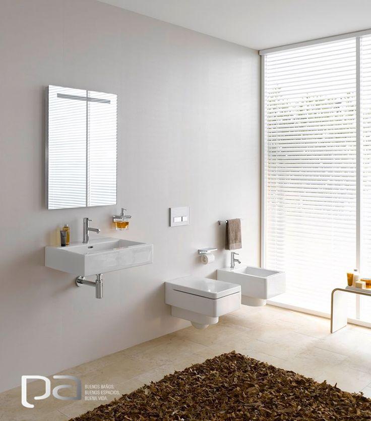 #BuenosBaños  La belleza de su simplicidad hace que los diseños de Laufen logren del baño un espacio único en el hogar.   Laufen exclusivo en Productos Arquitectónicos