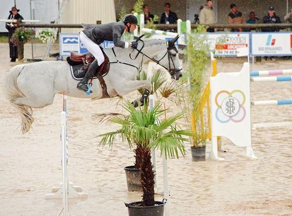 Les chevaux de sports - Silvana HDC - Kevin Staut et Silvana lors du CSI 4 étoiles de Bourg en Bresse en juin 2012