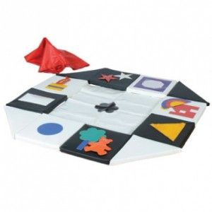 Visual Contrast Sound and Sensory Mat