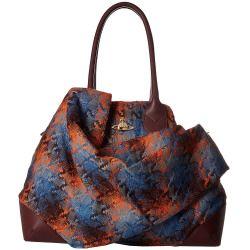 sale Vivienne Westwood - Winter Tartan Bag (Grey) Satchel Handbags