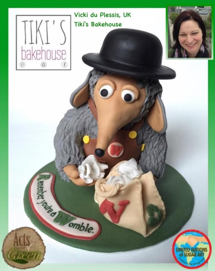 Remember you're a Womble... - Cake by Tiki's Bakehouse