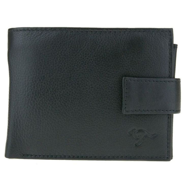Genuine Leather Black Mens Wallet - RFID Protected | Buy Mens Wallets & Money Clips