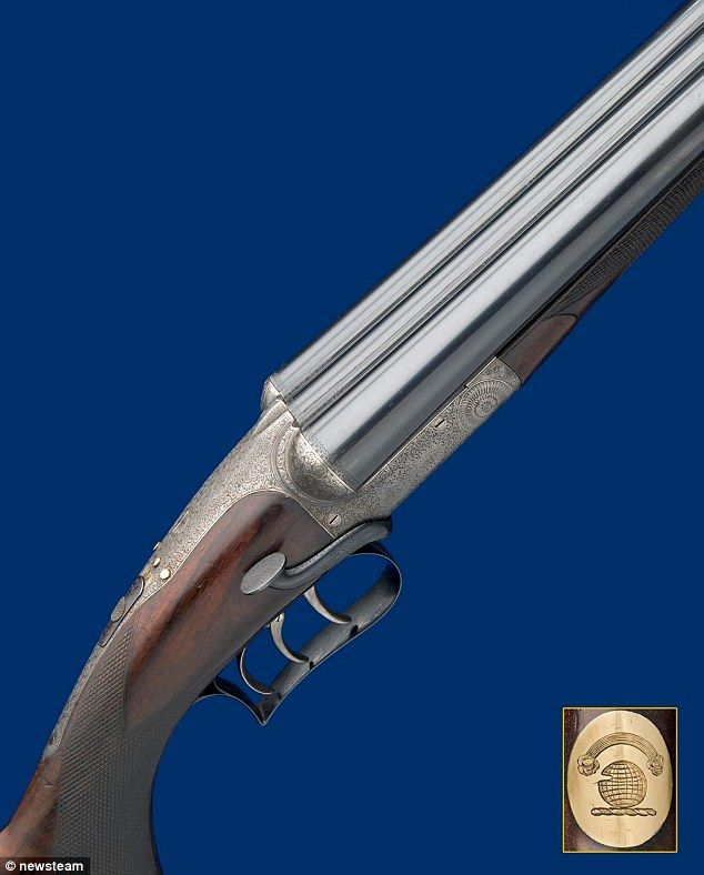 Dubbed the 'Holy Grail', the gun was made for the first Governor General of Australia in July 1900