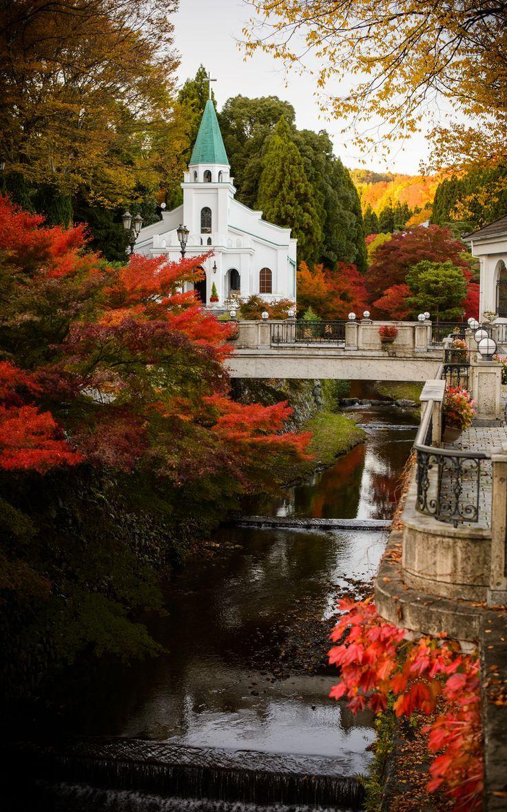 It's a beautiful world! — beautymothernature:   Autumn Scenery mother nature…