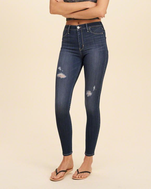 Ripped Jeggings | Hollister | Size: 1S
