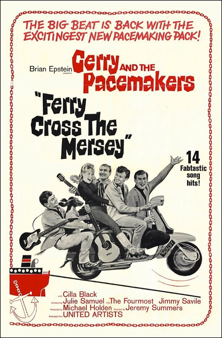 Brian Epstein presents Ferry Cross the Mersey (1965) starring Gerry and The Pacemakers