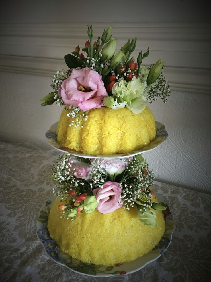 Yellow Glutinous Rice (Pulut Kuning) for anniversary