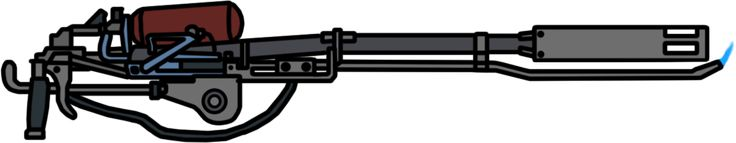 Walfas Weapons: Portable Flamethrower(Metro 2033) by RED-IMPRISONER