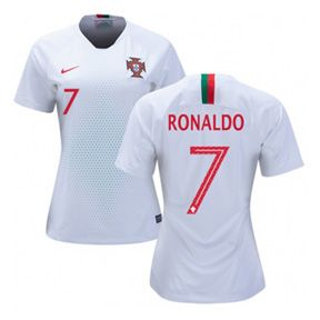 Nike Womens Portugal Ronaldo  7 World Cup 2018 Jersey (Away)  https  ab815f76f