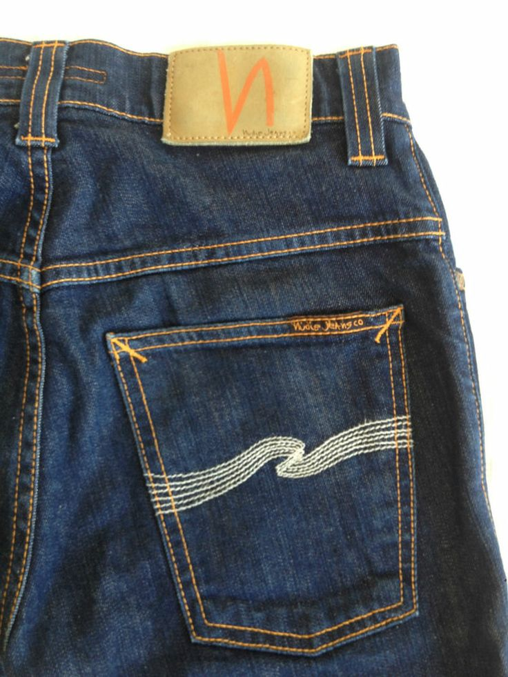 Ladies Nudie Thin Finn Organic Jeans - 28W x 27L - RRP $240 - Now Selling! Click through to go to eBay auction.