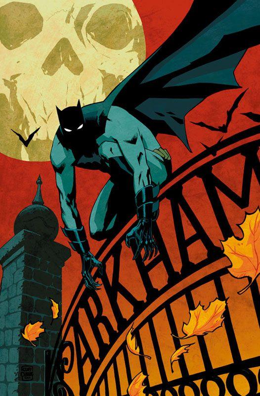 "Comic Cover Artwork ~ ""Detective Comics 864"" ~ One comic from the Batman Detective Comic series ~ Cover artist: Cliff Chiang"