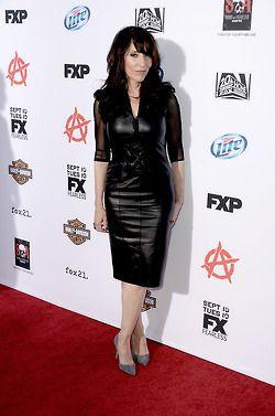 Miss Katey looking fierce. SOA season 6 premier.