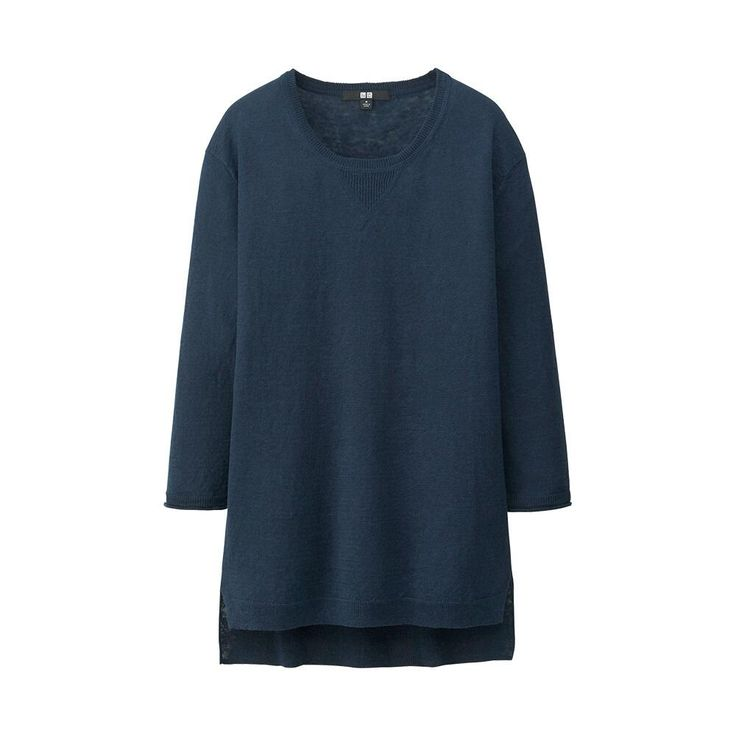 WOMEN Premium Linen 3/4 Sleeve Sweater