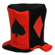 Hat Card Suit Casino Fabric $26.95 BE60311