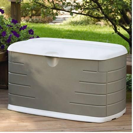 Rubbermaid 75-Gallon Outdoor Storage Box - Walmart.com