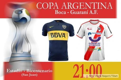 Boca enfrenta a Guaraní Antonio Franco por la Copa Argentina - Deportes Télam
