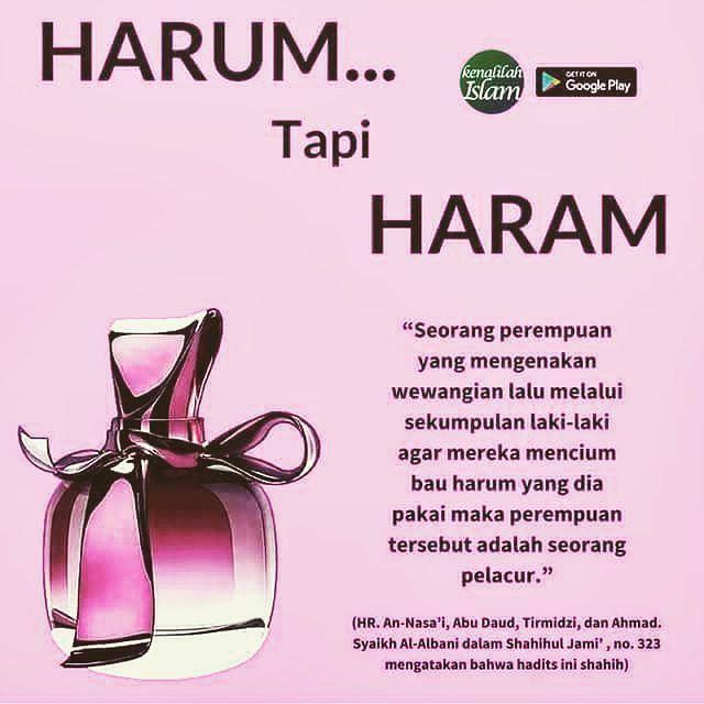 Parfumnya dipakai saat di rumah saja ya ukhti Menyenangkan yang di rumah (suami) dapet pahala Menyenangkan yang di luar (ajnabi) dapet dosa Pilih mana?? :) . . - @ikhwanmelayu #Indonesia #Muslim #Tauhid #2017 #ustadkhalid #ustadsyafiq #Hijrah #Dakwah #Islam #Ikhwan #Akhwat #Moeslim #Berhijrah #Indonesiatauhid #Rahmat #ikhwanmelayu #Islamituindah #manhaj #salaf #salafi #Islami