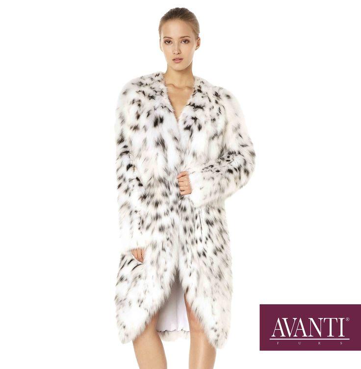 AVANTI FURS - MODEL: ARLETE CAT LYNX JACKET #avantifurs #fur #fashion #fox #luxury #musthave #мех #шуба #стиль #норка #зима #красота #мода #topfurexperts