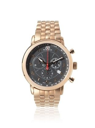 47% OFF 88 Rue du Rhone Men's 87WA120049 Rose Gold/Black Stainless Steel Watch