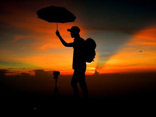 Sunrise mt.Merapi