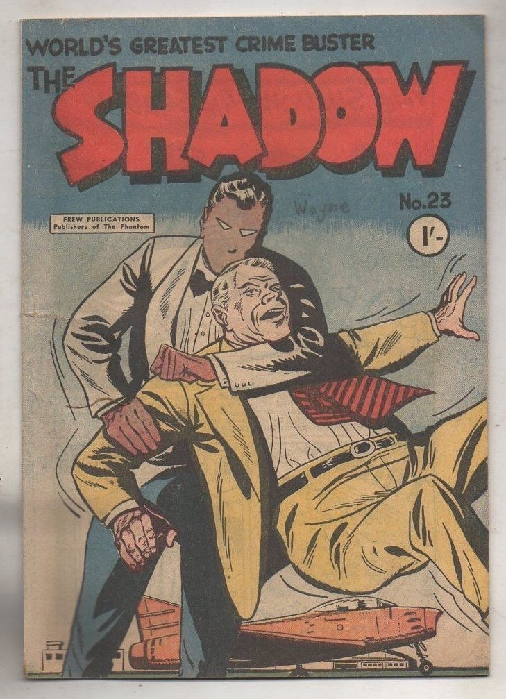 THE SHADOW No 23 BY FREW PUBLICATIONS V FINE CONDITION | eBay