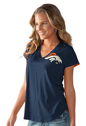 NFL Denver Broncos Women's First Down Tee, Navy/Orange, S... https://www.amazon.com/dp/B01ICSTPBQ/ref=cm_sw_r_pi_dp_x_6x-5xbW2FDMAY