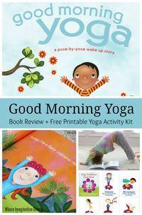 Good Morning Yoga Book Review! Fun Yoga For Kids – Parenting