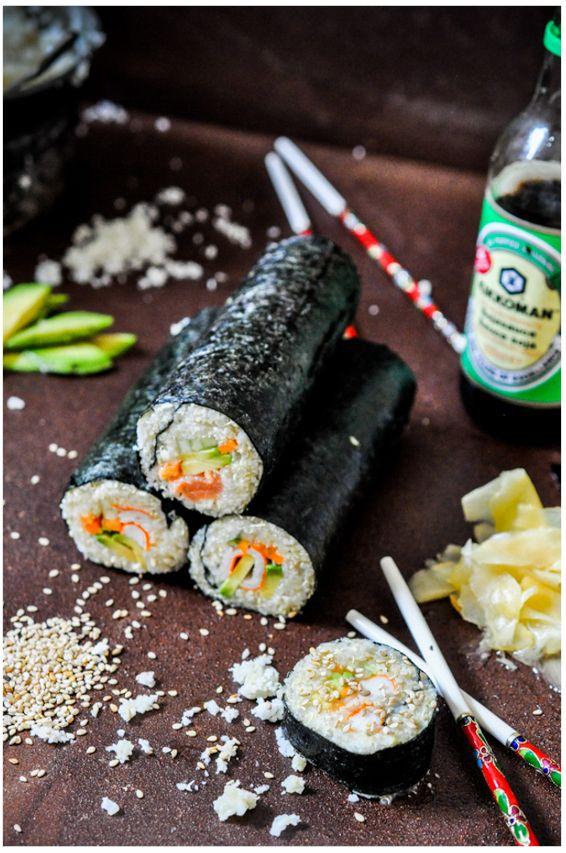 Cauliflower Sushi recipe