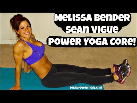 40 Minute Power Yoga Fitness Sculpt: Sean Vigue & Melissa Bender - YouTube