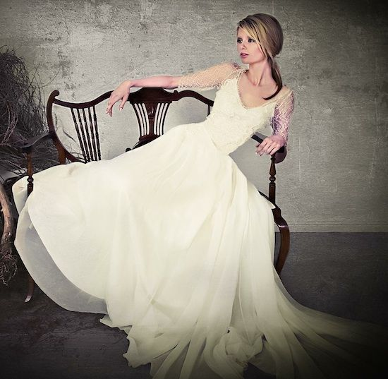 Sarah Janks 2013 Wedding Gown Collection : lace and embroidery