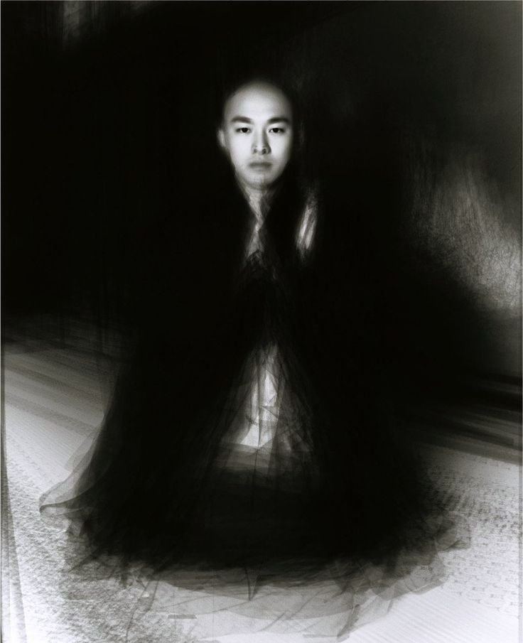 35 Esoteric Buddhist Monks  Piling portrait by Ben Kitano