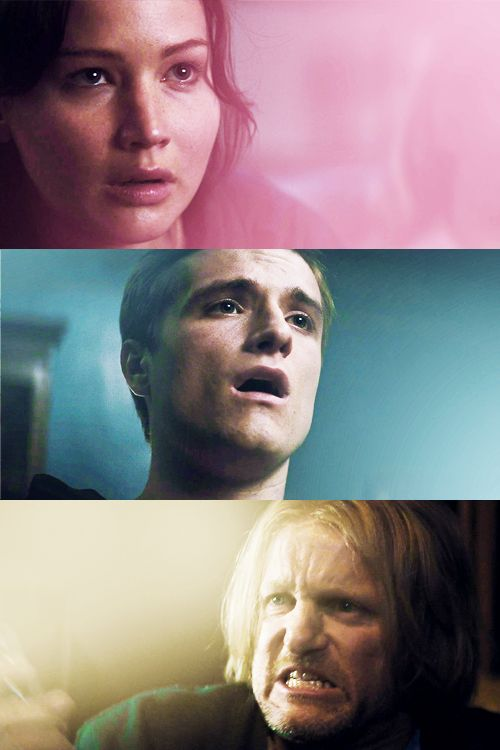 Peeta's reaction and Haymitch's reaction both killed me inside...