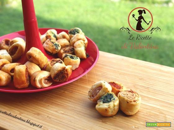 Salatini/Rustici misti cotti con la friggitrice ad aria  #ricette #food #recipes