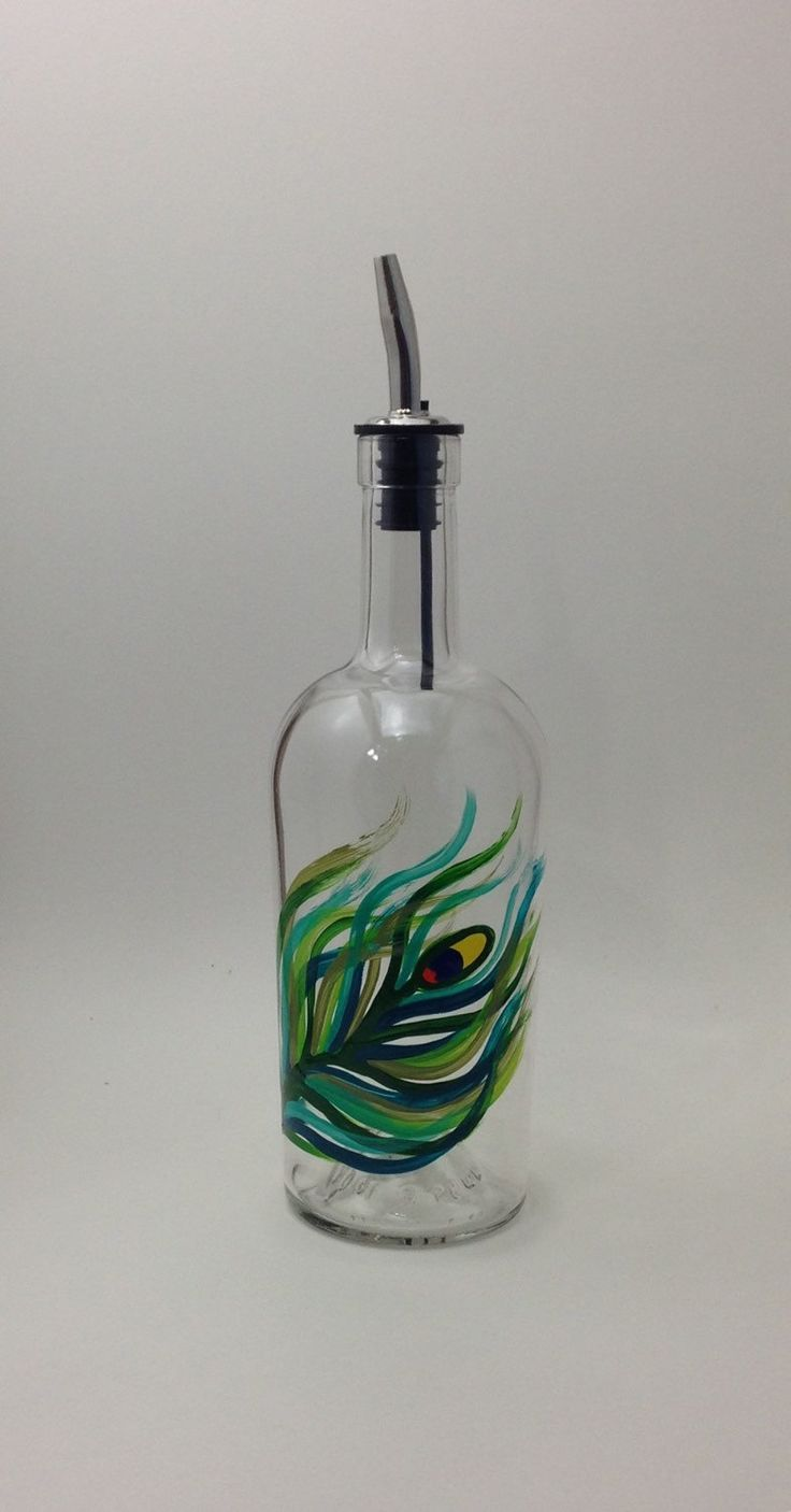 Peacock Olive Oil or Soap Bottle – ✽ Support Small Businesses (Pin Exchange)