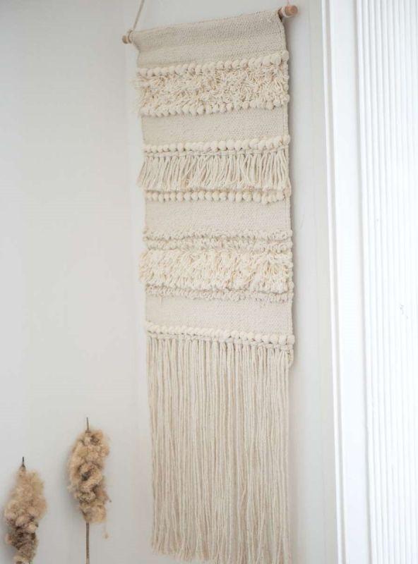 Bohemian Wandkleed Lange Franjes | Ib Laursen
