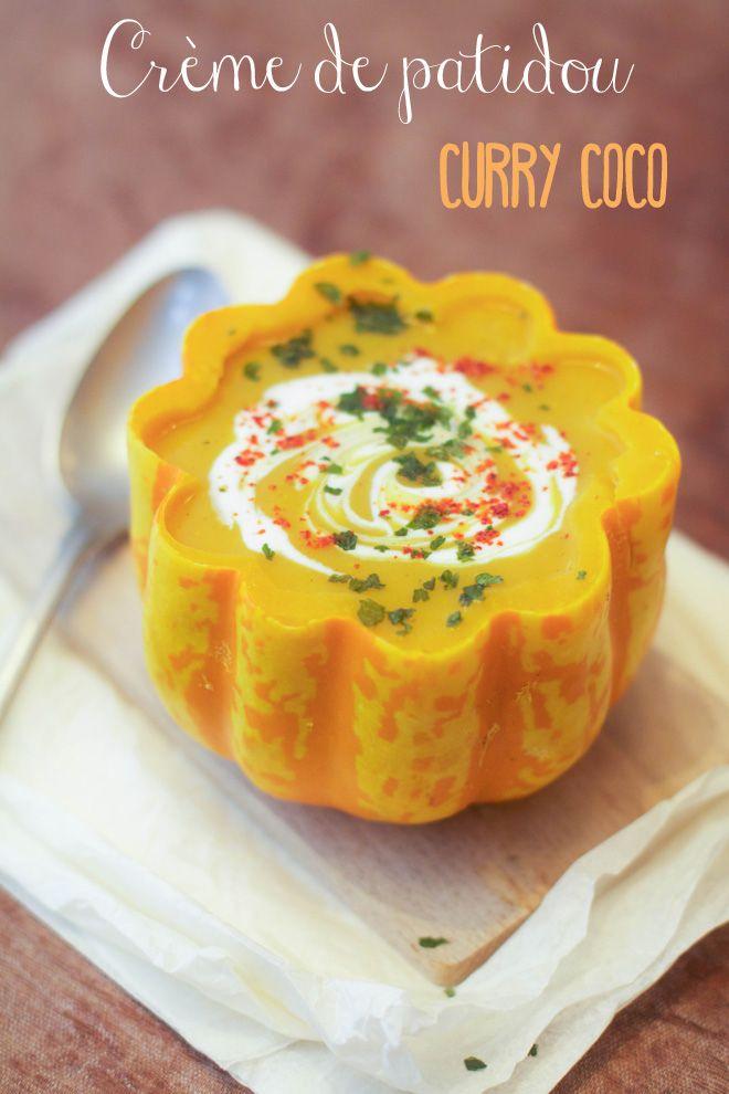 """Un """"Flo"""" de bonnes choses » Crème de patidou – curry – coco"""