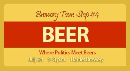 Minneapolis Area Association of REALTORS® Brewery Tour. Stop #4, July 24, 5:00 p.m. – 8:00 p.m. http://www.eventbrite.com/event/7315112699?utm_source=eb_email_medium=email_campaign=new_eventv2_term=eventurl_text